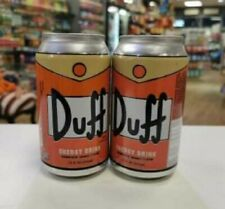 The Simpsons Duff Energy Drink from Boston American x 2 cans