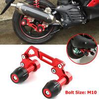 10MM Motorcycle Bikes Exhaust Pipe Anti fall Frame Protector For Yamaha Kawasaki