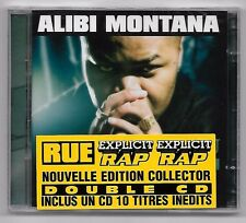 DOUBLE CD RAP FRANCAIS / ALIBI MONTANA NUMERO D'ECROU (NEUF SOUS CELLO) L.I.M