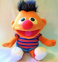 """12"""" 1996 Tickle Me Ernie Electronic Plush Giggles Shakes Talks Stuffed Baby Toy"""