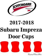 3M Scotchgard Paint Protection Film Clear Pre-Cut Fits 2017 2018 Subaru Impreza