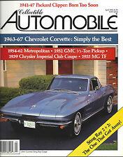Collectible Automobile Magazine April 1990 Vol 6 - No 6