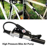 Mini Portable Haute Résistance Bicyclette Pompe à Air Vélo Gonfleur de Pneu FCP
