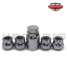Lug Wheel Lock Nuts 12x1.25 Open End Bulge Acorn Fits Nissan