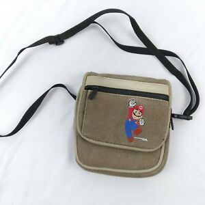 Official Nintendo DS Game Boy GBA GBC NDS NDSL Mario Travel Bag / Carrying Case