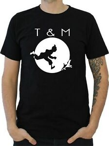 T-SHIRT HOMME TINTIN & MILOU