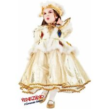 Deluxe Velvet Harlequin Girls Costume Venetian Juliet Princess Fancy Dress Sz 4