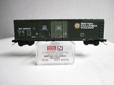 MICRO TRAINS 75120 BRITISH COLUMBIA RAILWAY 50' DOUBLE PLUG  BOX #800516  N