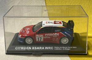 CITROEN XSARA - WRC 2003 - MONTE CARLO RALLY -  C MCRAE - D RINGER - VGC