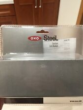 OXO steel sink sponge holder