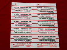 Simon & Garfunkel~ The Sounds Of Silence~ We'Ve Got A ~ Jukebox Title Strips