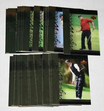 2001 Upper Deck Tiger Woods Tiger Tales 1-30 Set - All 30 Cards Complete