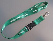 Barmer Krankenkasse Schlüsselband Lanyard NEU (Z39)