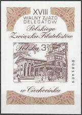Poland 2002 - Congress of the Polish Philatelic Union - Fi bl 181A MNH**