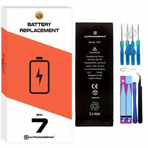 ORIGINAL ultrapower100® REPLACEMENT BATTERY for APPLE iPhone 7 1960 mAh + Tools