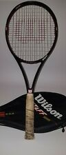 Wilson Staff Tennis Racket 450 ST High Beam Series 95.SQ.IN Cover Case