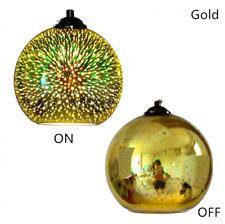 3D Glass Fireworks Lamp Shade Ceiling Pendant Light Chandelier Lighting Decor UK