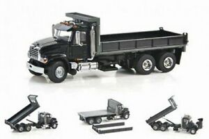 "Sword SW2102-K MACK GRANITE FLATBED TRUCK ""BLACK"" 1:50 ""NEW"""