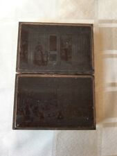 Two Copper Printing Plates Showing Onboard The White Star Britannic