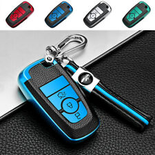 Soft Tpu Remote Key Case Cover Fob Holder for Ford Fusion Mondeo Edge Key chain