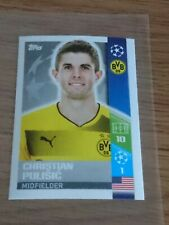Christian Pulisic Rookie Sticker - Topps Champions League 2017 - Mint Con