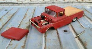 Vintage ORIGINAL ISSUE  AMT 1960 FORD PICKUP Truck Model Kit F100