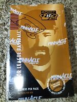 1995 Pinnacle Sportflix Baseball Factory Sealed Hobby Box 36 Packs / Excellent
