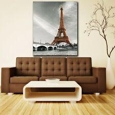 Modern Abstract Eiffel Tower Wall Art Canvas Painting Home Decor Unframed USA