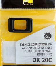 Nikon DK-20C Diopter-5 for D300,D200,D100,D90,D80,D70s,D70,
