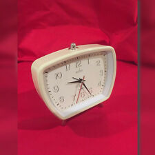 1940's 1950's type cream Designer alarm clock