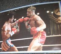ROCKY IV 1985 ORIGINAL (RARE) UNITED ARTIST MOVIE POSTER STALLONE DRAGO 11x17