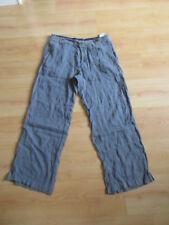 Pantalon en lin Guess Gris Taille 42 à - 63%