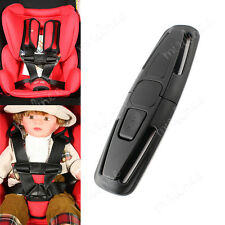 Car Baby Safety Seat Strap Belt Harness Chest Clip Child Safe Lock Buckle