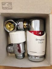 1 x Drayton TRV4 15mm Angle Thermostatic Radiator Valves ***BNIB***