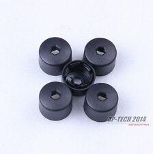 5Pcs Wheel Lug Nut Cover & Anti-theft Wheel Lug Nut Caps For Jetta Golf Passat