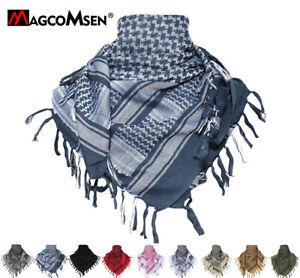 100% Cotton Army Arab Shemagh Tactical Desert Keffiyeh Head Scarf Wrap Shawl