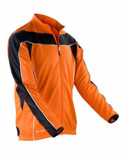 Abbiglimento sportivo da uomo arancione a manica lunga taglia XXL