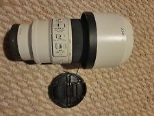 Sony FE 70-200mm f/4 FE OSS Lens with  b+w filter.