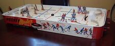 Munro  Electric Hockey Master game 1950's has the metal players table top hockey
