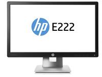 HP EliteDisplay E222 LED Monitor 21,5'' 54,61cm IPS HDMI DisplayPort VGA