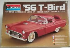 Monogram '56 T-Bird 1/24 Model Kit Open Box Sealed Parts New