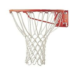 """New Champion Non Whip 12 Loop 21"""" 6 mm Heavy Duty Professional Basketball Net Wt"""