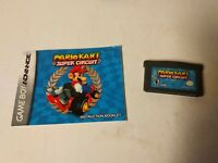 Mario Kart: Super Circuit (Game Boy Advance, 2001) w/Manual