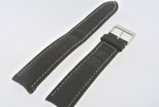 Original Bell & Ross Genuine Leather Watch Band With Breitling Buckle, 18mm