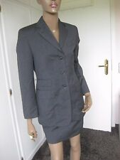 Windsor-Costume Taille 34-Anthracite-Rock, Blazer Pure Laine Vierge