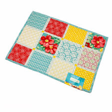 The Pioneer Woman Patchwork Floral Quilted Reversible Single Placemat