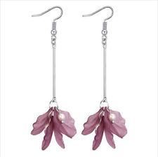 MARNI H&M Purple Flower Earrings