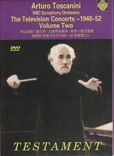 Arturo Toscanini / the NBC Symphony Orchestra TheTelevision Concerts, Vol. 2 DVD