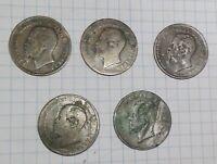 """SERIE ANTICHE MONETE """"REGNO"""" VITTORIO EMANUELE II  5 CENT (1861 - 1867) MB"""