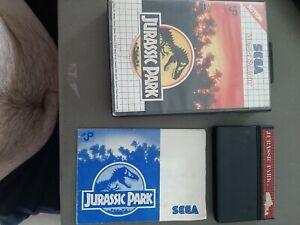 Jurassic Park - In Box | Sega Master System Game | 🇦🇺Fast Post
